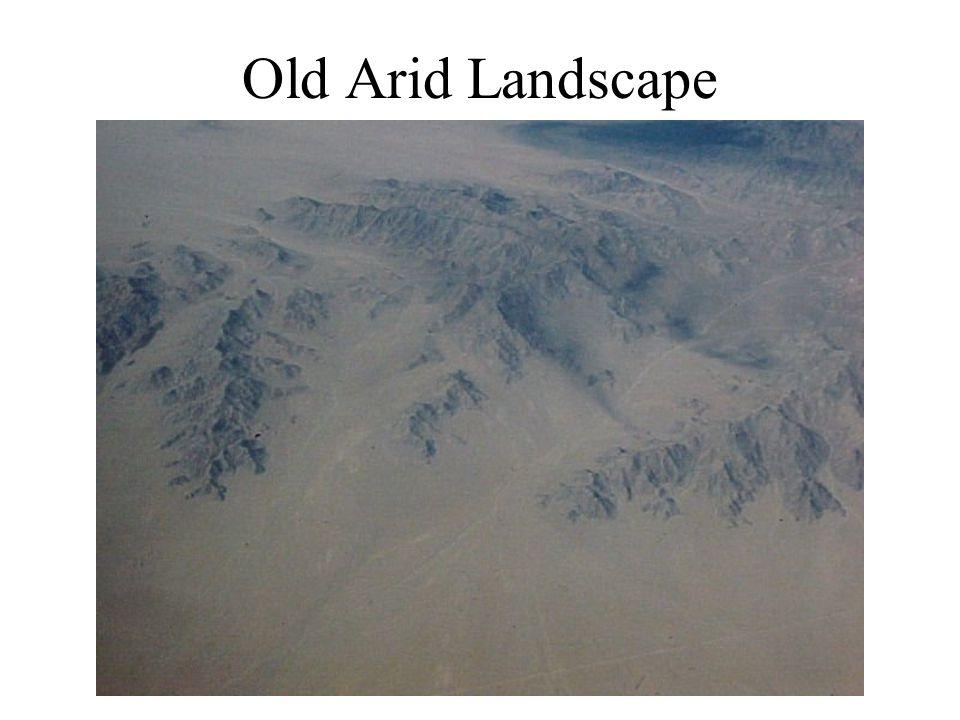 Old Arid Landscape