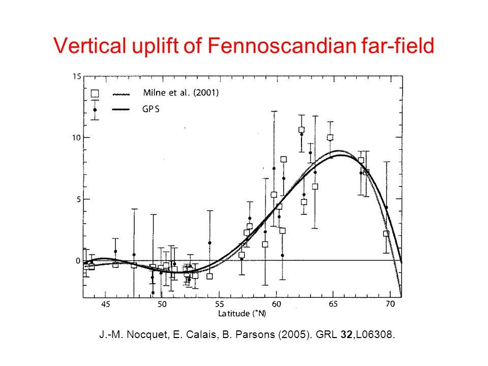 Postglacial rebound in North America A.Lambert, N.