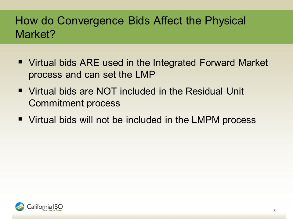 How do Convergence Bids Affect the Physical Market.