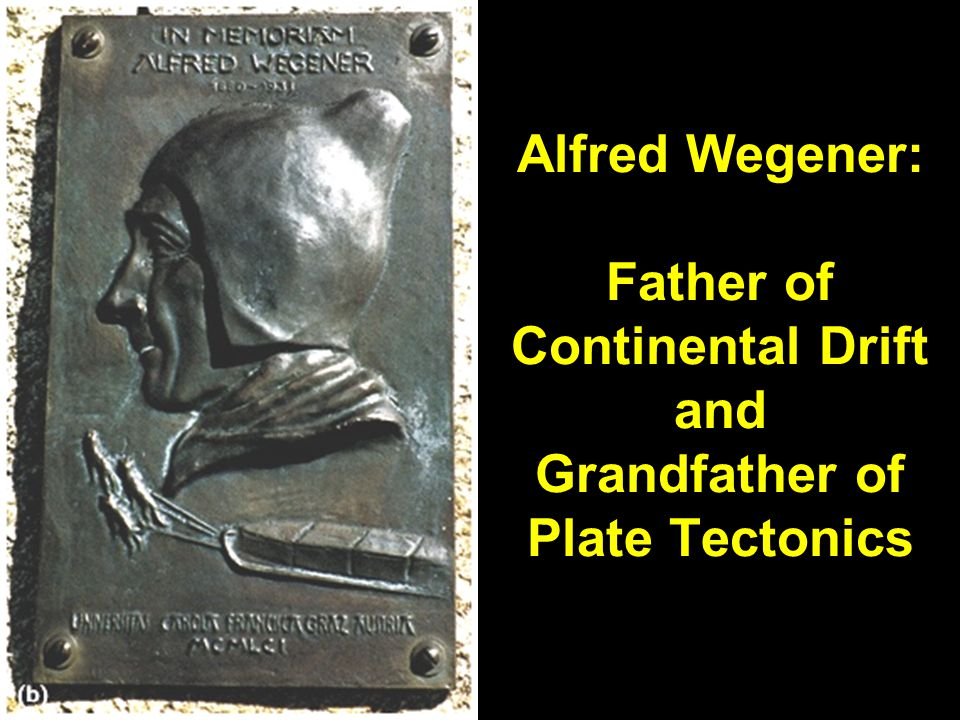 Alfred Wegener: Father of Continental Drift and Grandfather of Plate Tectonics Fig.21.1