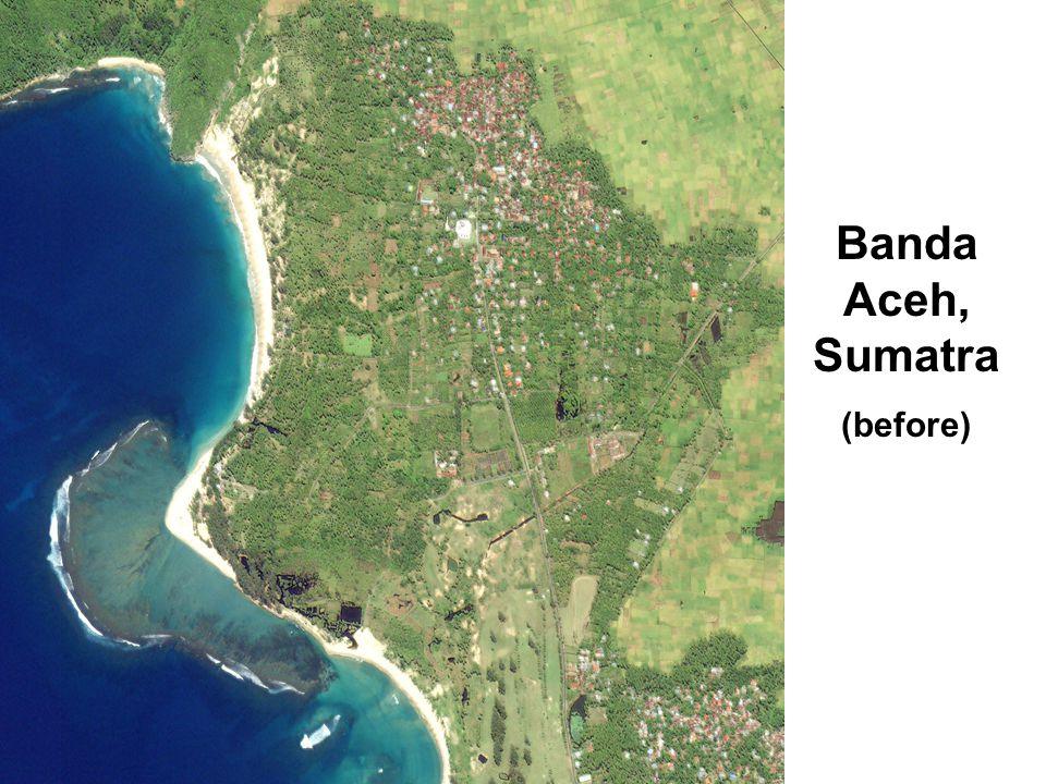 Banda Aceh, Sumatra (before)