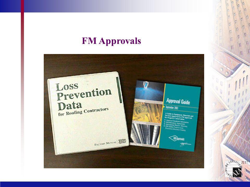 J157 FM Approvals