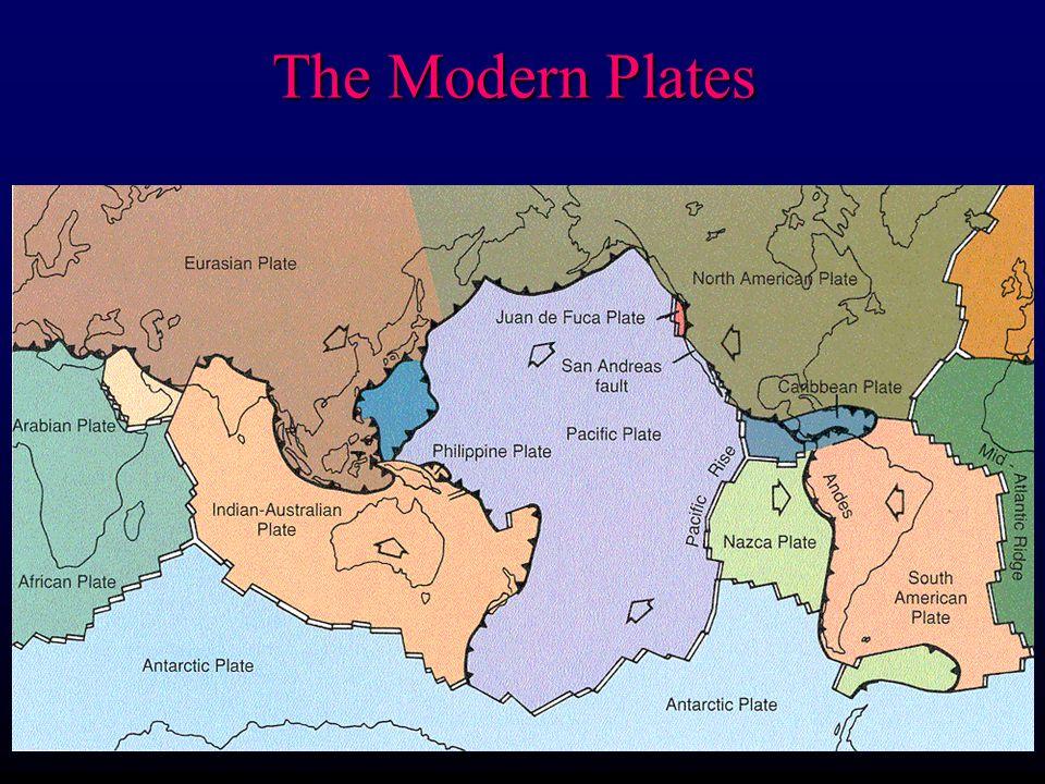 Continental Glaciation ~ 125,000 until 13,000 years ago