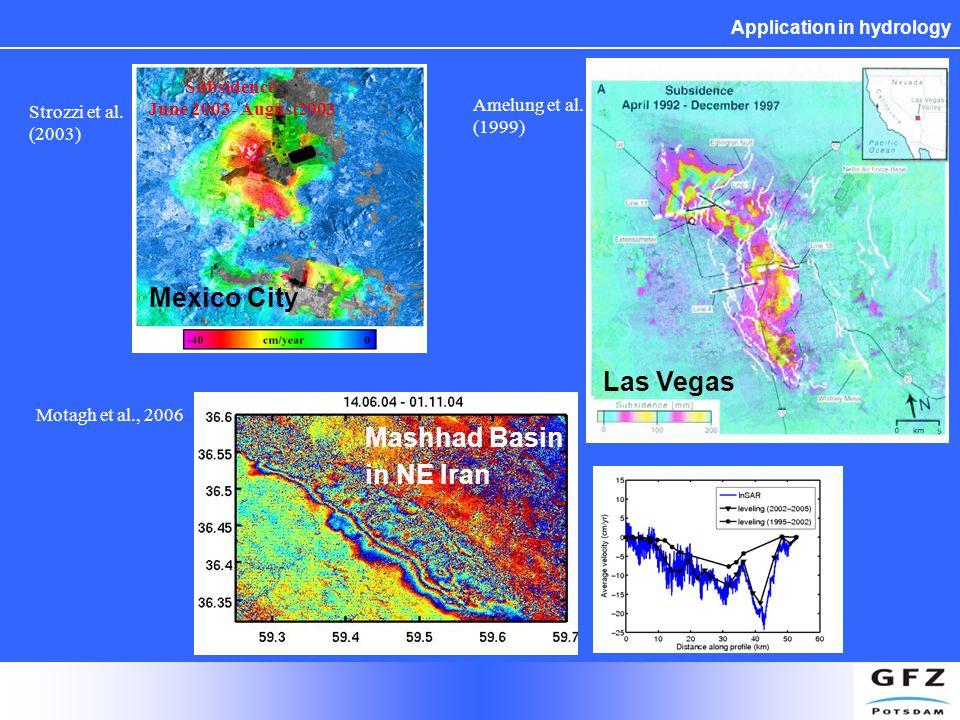 Application in hydrology Amelung et al.