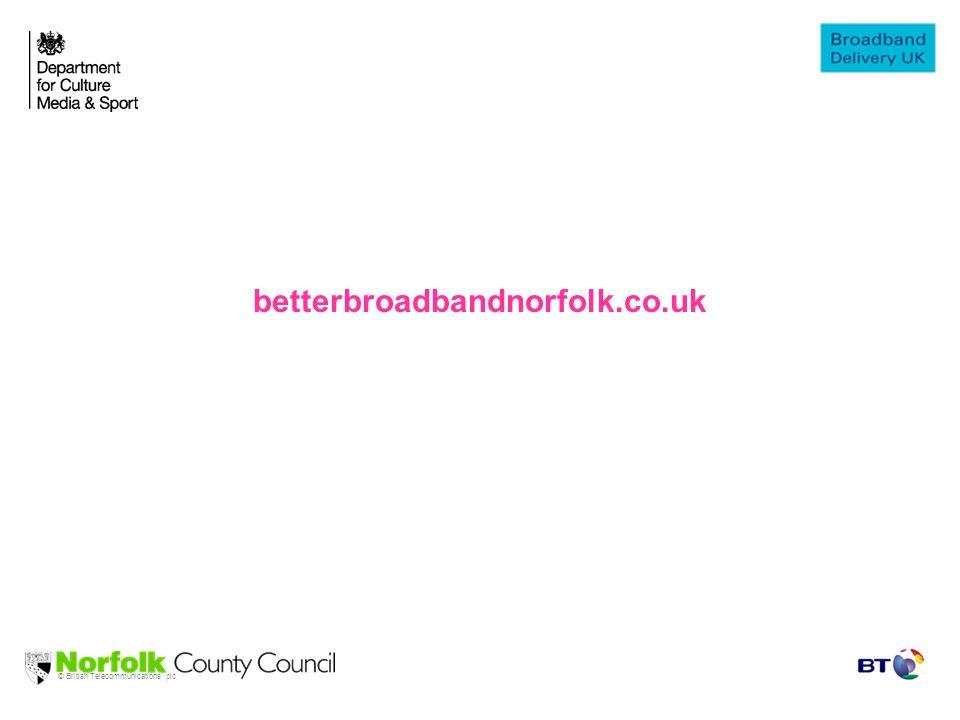 © British Telecommunications plc betterbroadbandnorfolk.co.uk