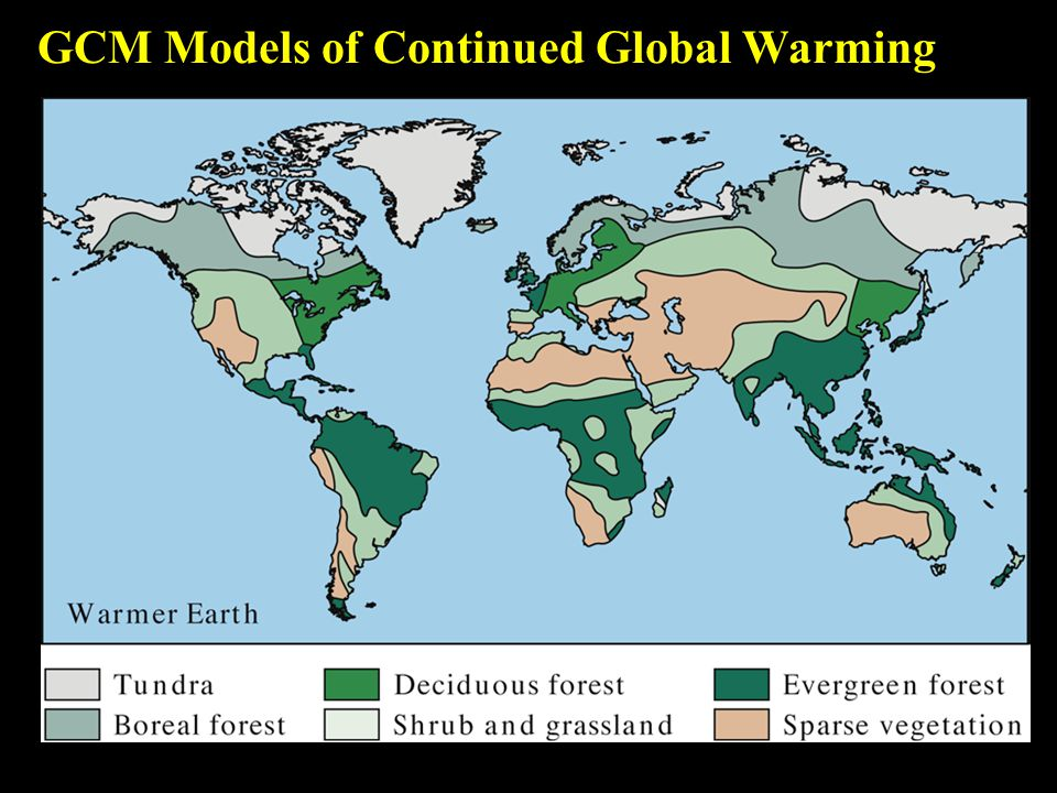 GCM Models of Continued Global Warming