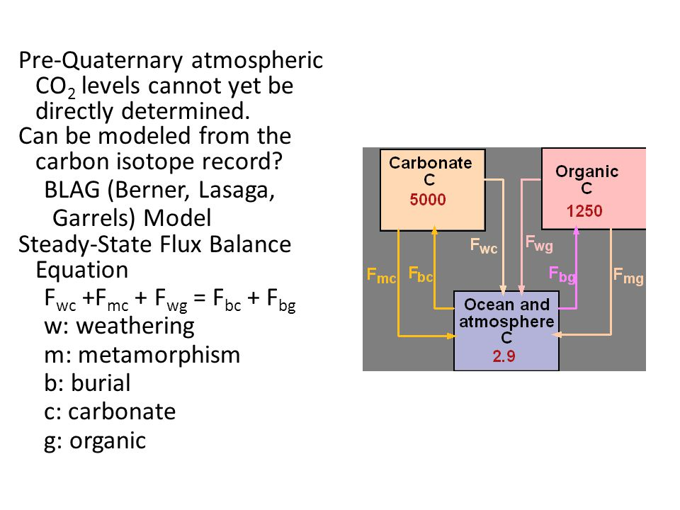 Pre-Quaternary atmospheric CO 2 levels cannot yet be directly determined.