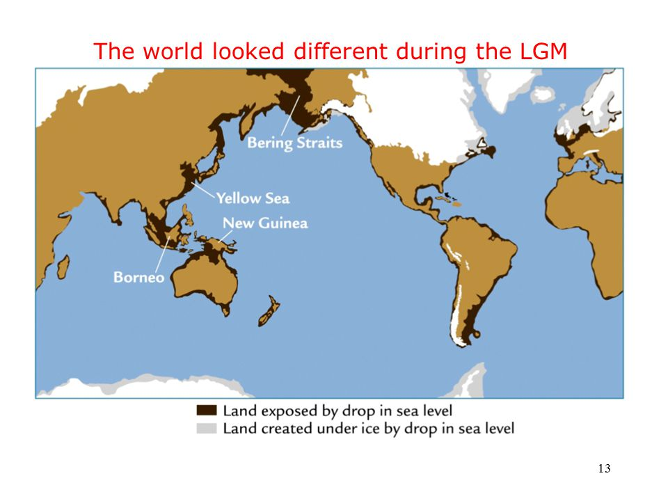 13 The world looked different during the LGM