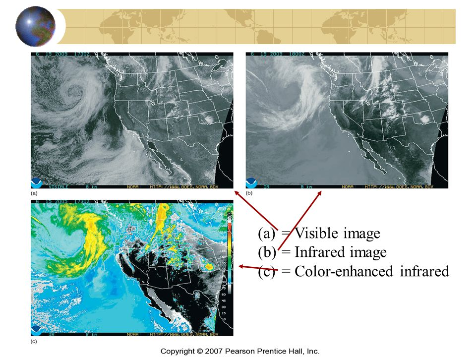 (a)= Visible image (b)= Infrared image (c)= Color-enhanced infrared