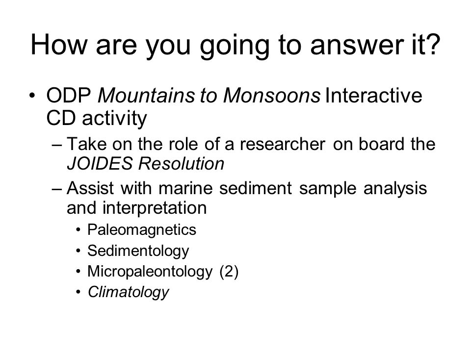 How is this activity relevant to middle school science.