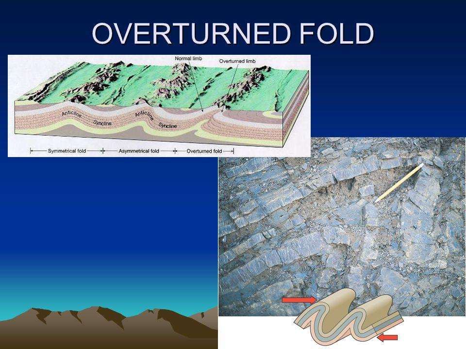 OVERTURNED FOLD