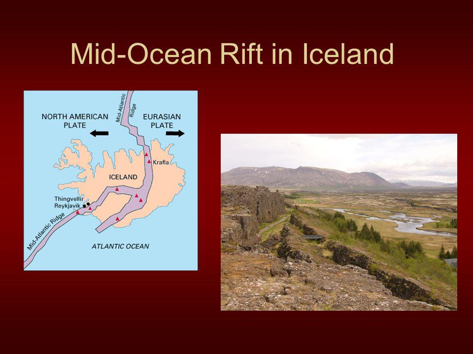 Mid-Ocean Rift in Iceland