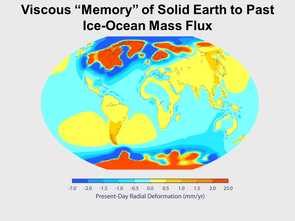 Viscous Memory of Solid Earth to Past Ice-Ocean Mass Flux