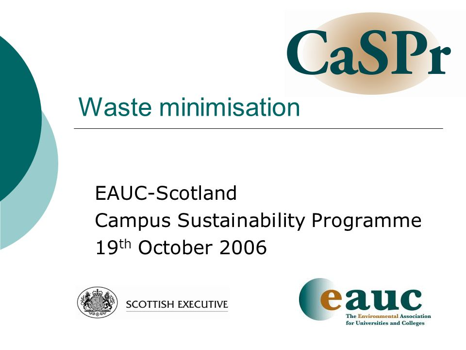 Creative Waste Exchange University of Aberdeen