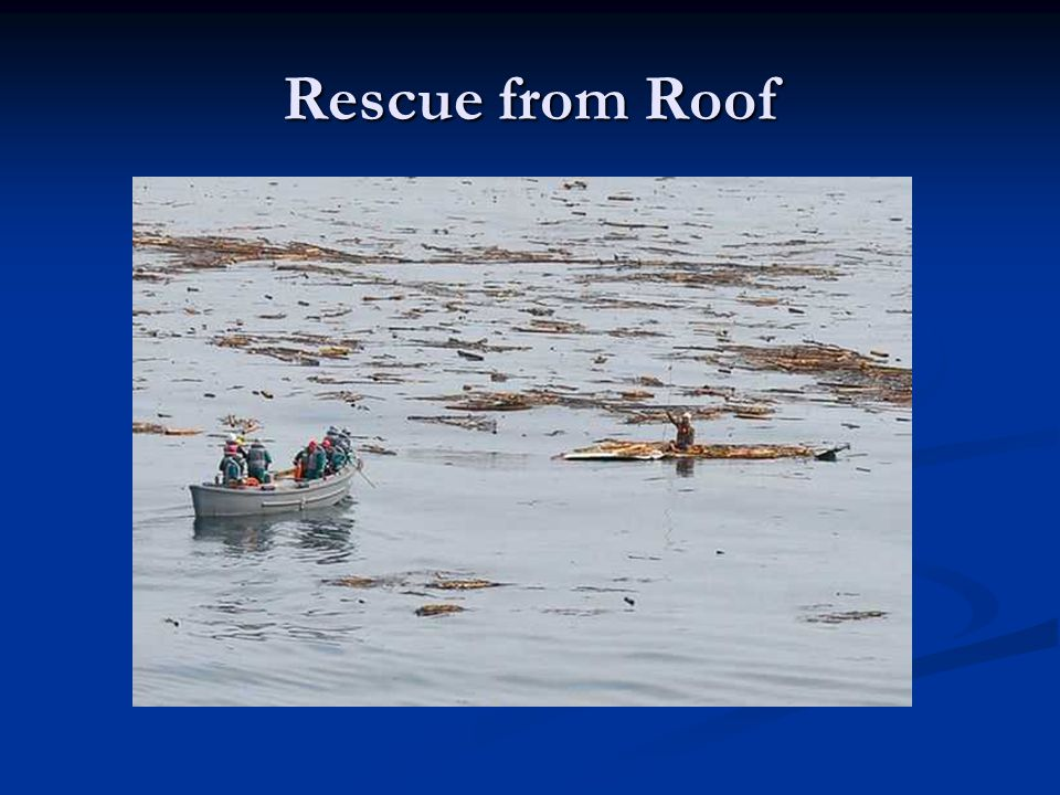 Rescue from Roof