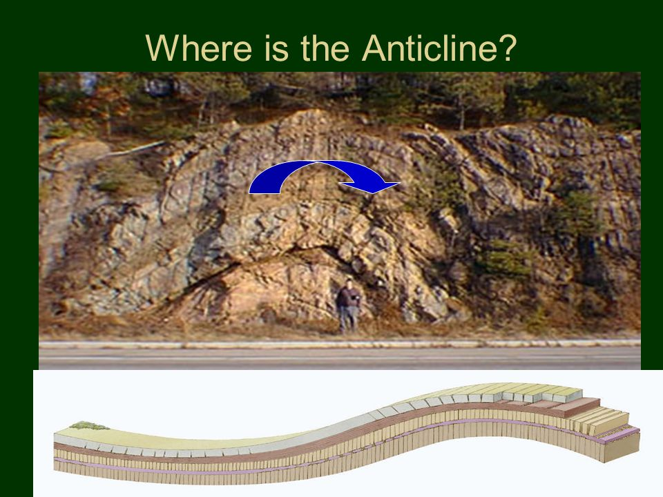 Where is the Anticline