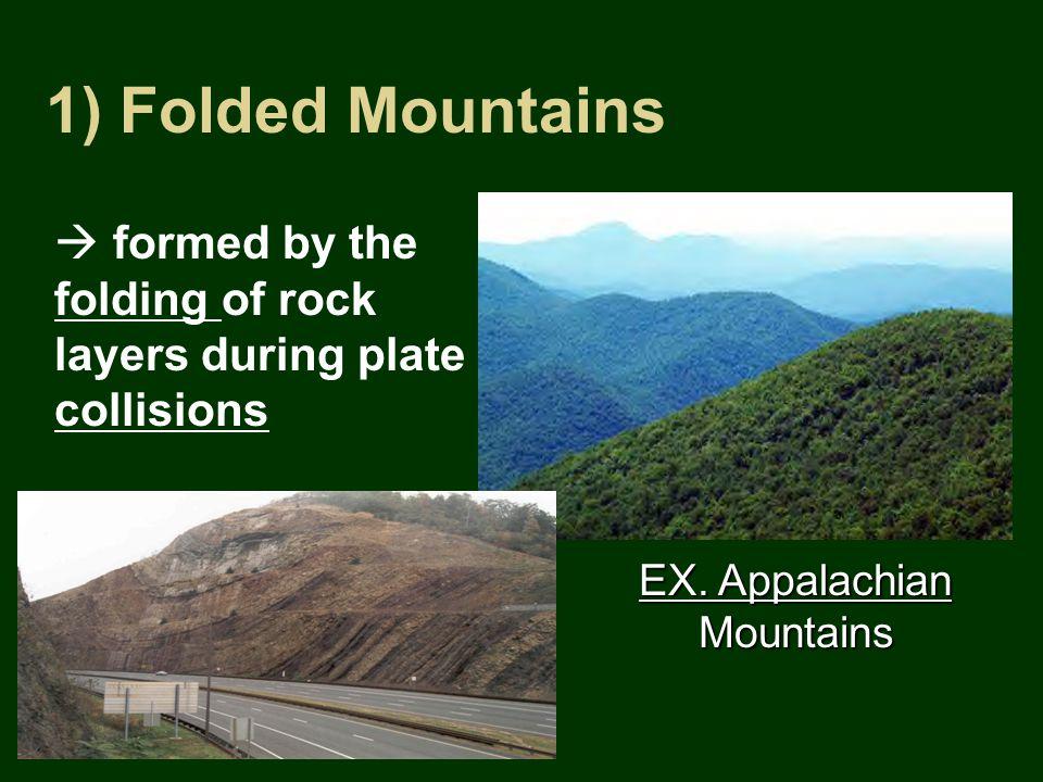 1) Folded Mountains EX.