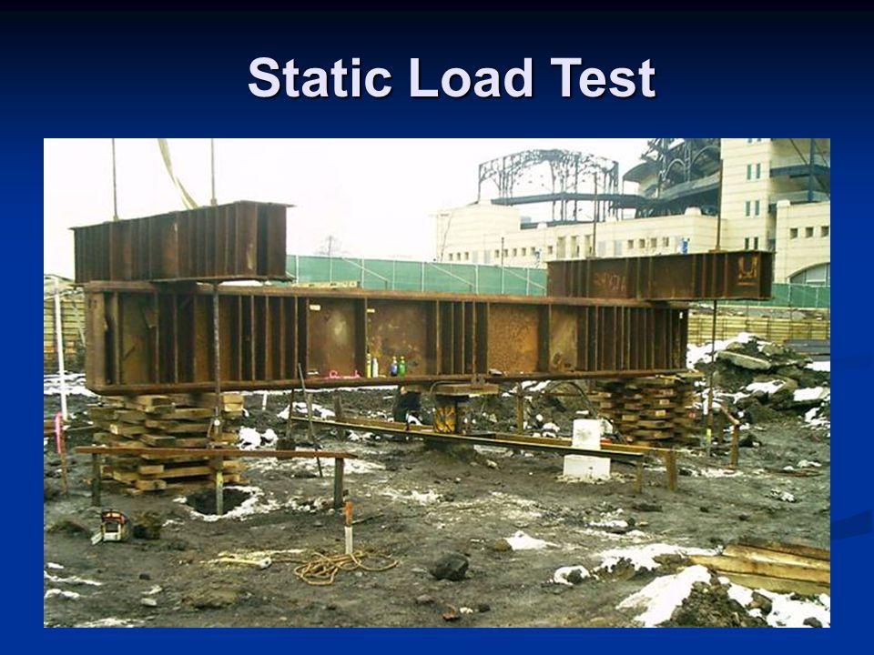 Static Load Test