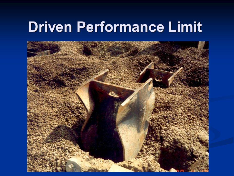 Driven Performance Limit