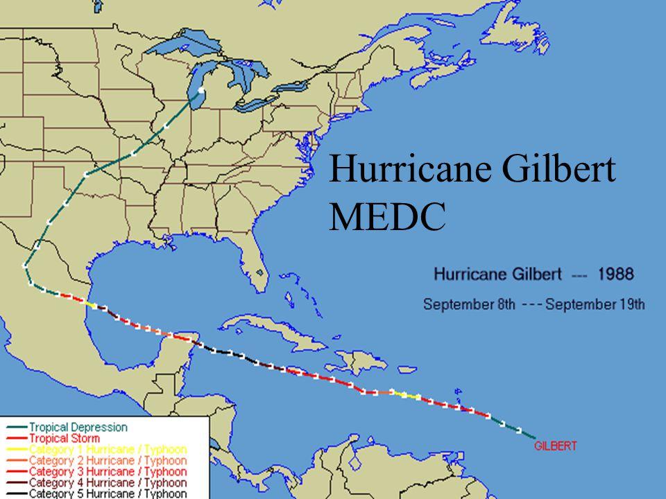 Hurricane Gilbert MEDC