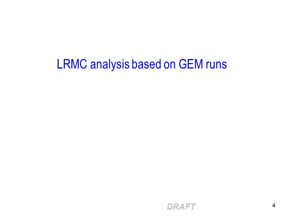 DRAFT 5 LRMC supply curves based on 2008 SOO assumptions Appx 300 MW demand growth by 2012 (@ 1.3% pa), and we have a (net) 230MW of geothermal & wind under construction Shows net MW (ie.