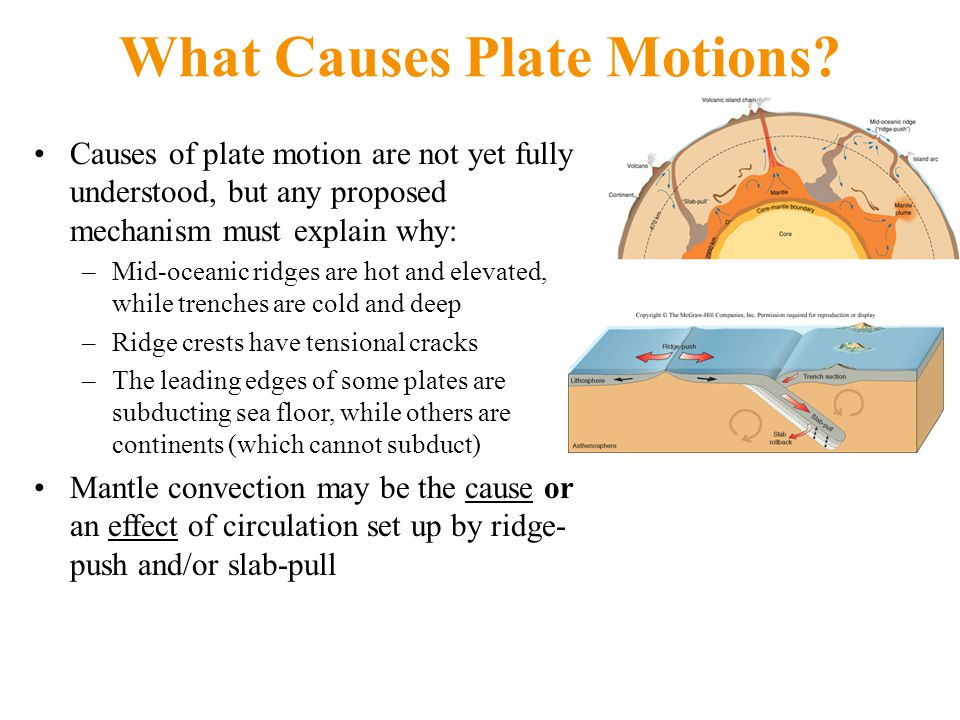 What Causes Plate Motions.