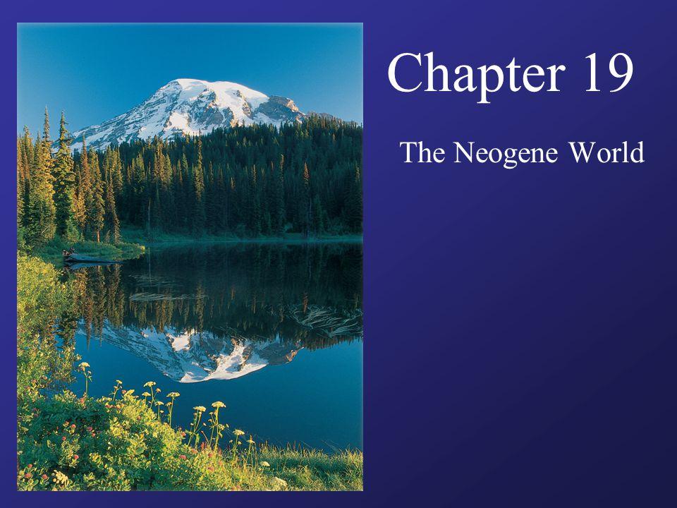Chapter 19 The Neogene World