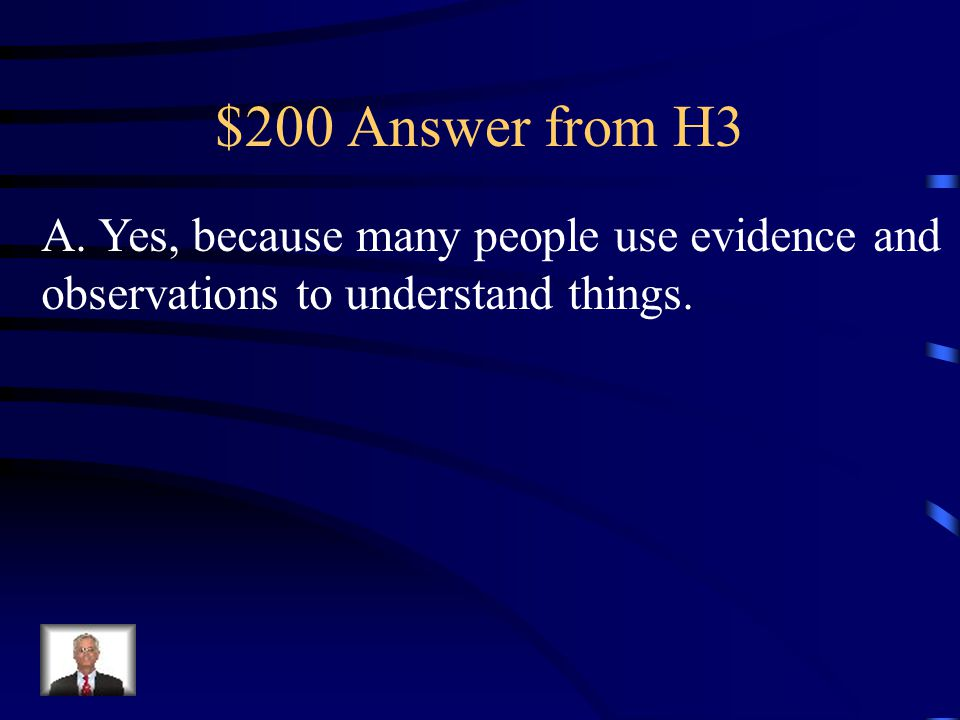 $200 Question from H3 While on vacation, a family saw one mountain by itself that had a caved-in top. They found many lava rocks by it and decided it