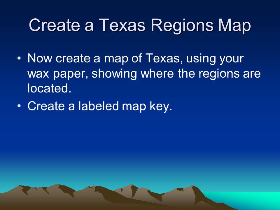 Texas Regions Texas is divided into 4 regions Gulf Coastal Region Central Plains High Plains Mountains & Basins