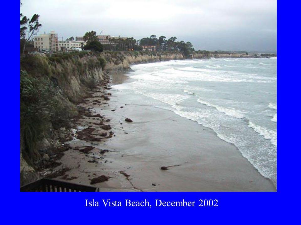 Isla Vista Beach, December 2002