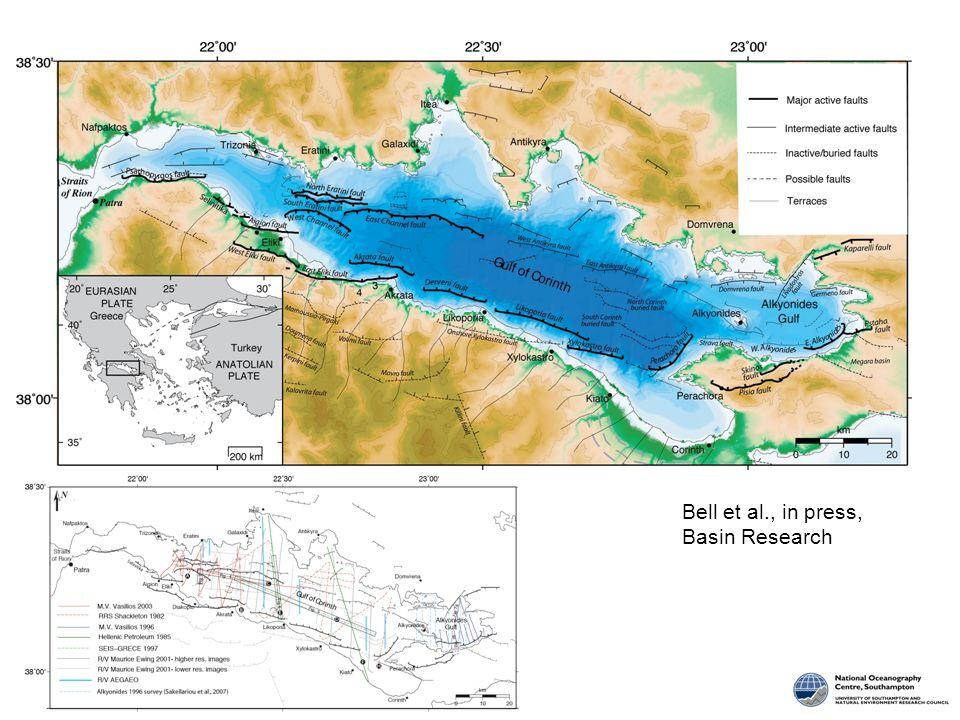 Bell et al., in press, Basin Research