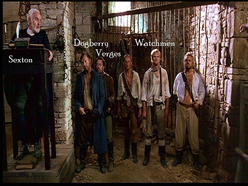 Dogberry Verges Watchmen Sexton