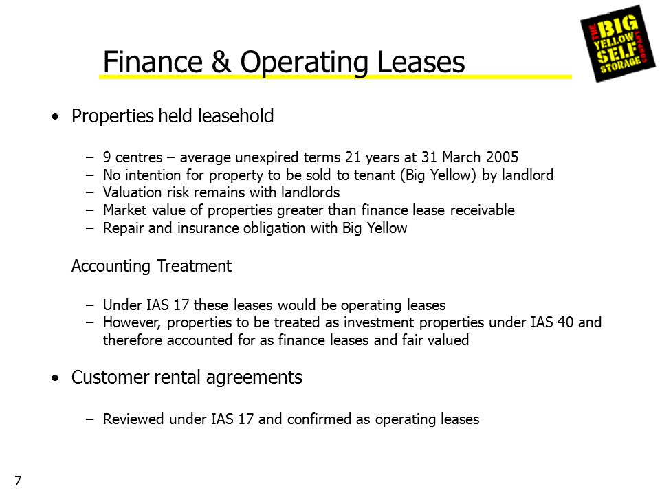 18 Adjusted Net Assets per Share – 31 March 2005 UK GAAPIFRS £'000 Net assets at 31 March 200558,679159,168 Fair value movement of interest rate swaps(154) Exercise of share options7,331 Revaluation uplift on properties134,983 Add back deferred tax on revaluation surplus40,194 Add back deferred tax on fair value of interest rate swaps(46) Adjusted net assets at 31 March 2005200,839206,647 No of shares108,120,866 Adjusted net assets per share185.8p191.1p