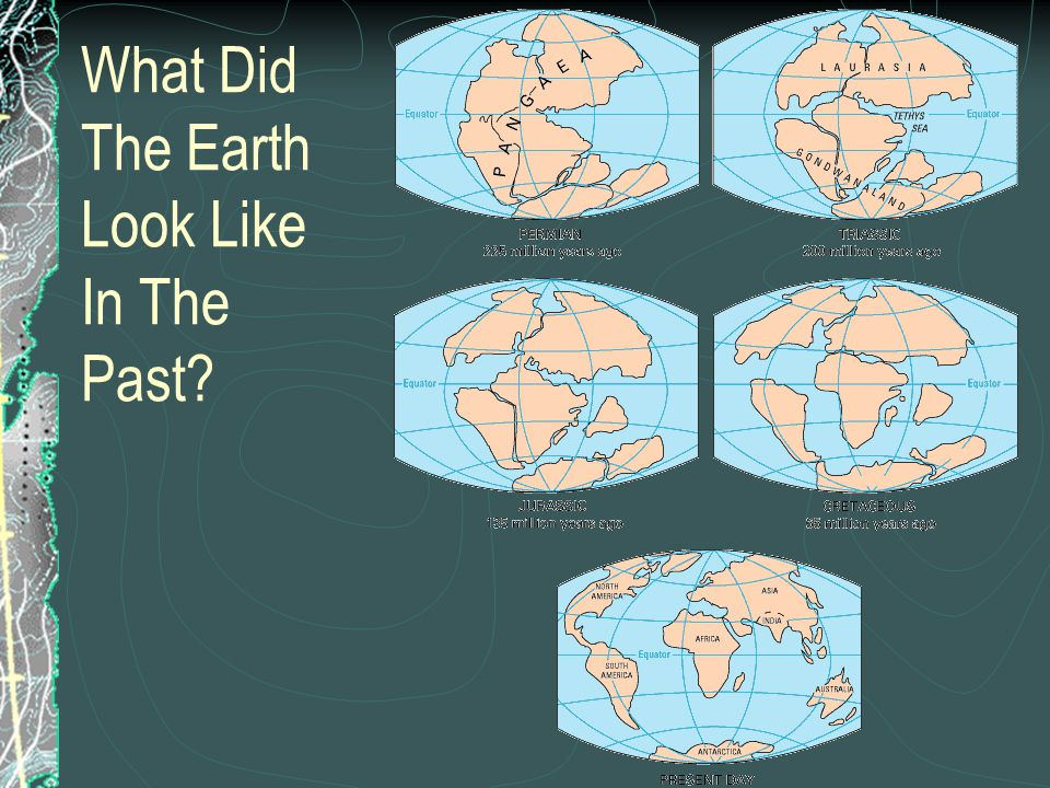 As two continental plates move toward each other, what landforms would you expect to see.