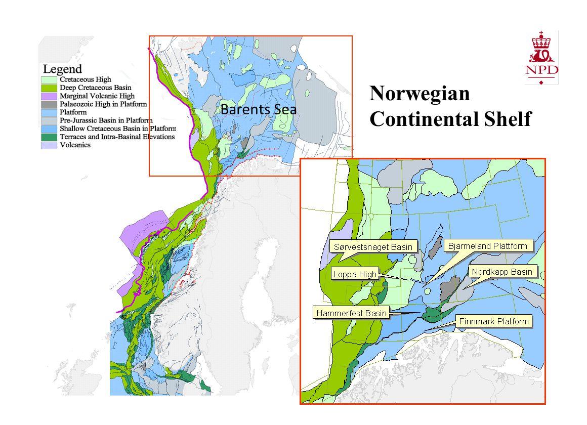 Barents Sea Norwegian Continental Shelf