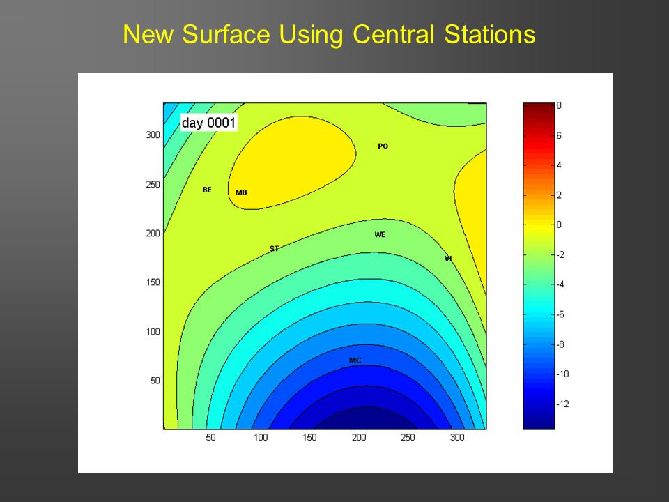 39 New Surface Using Central Stations