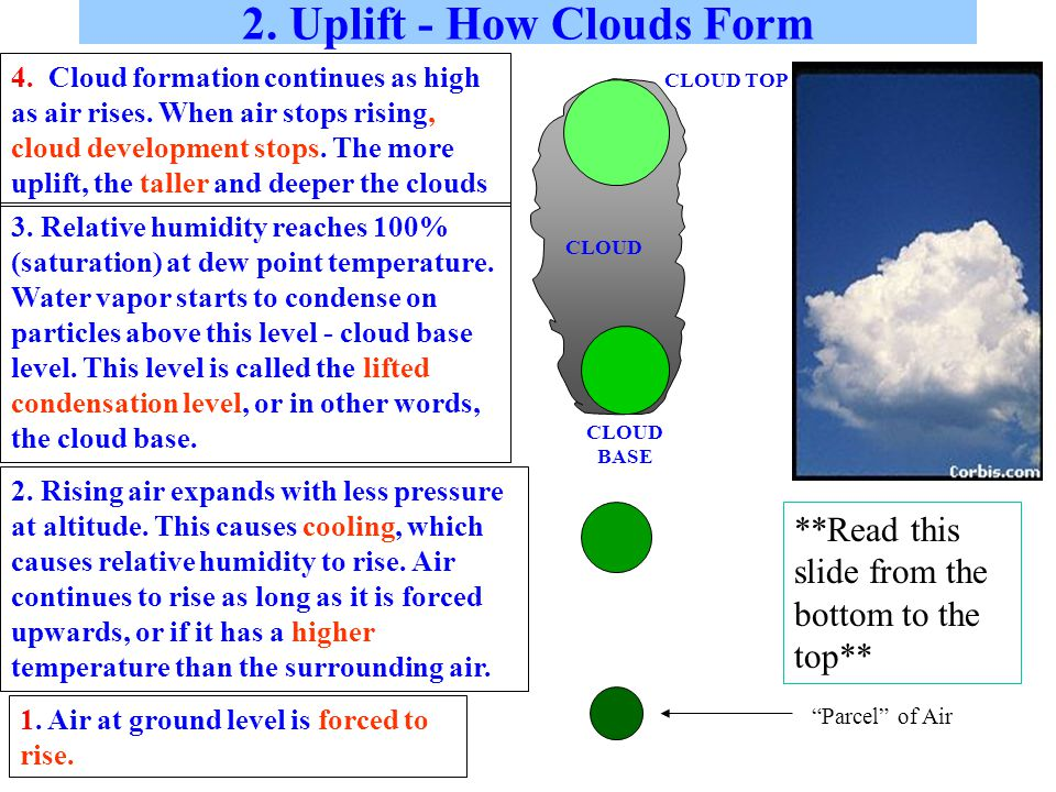 Fronts When two air masses collide there is a narrow region separating the two masses called a front.