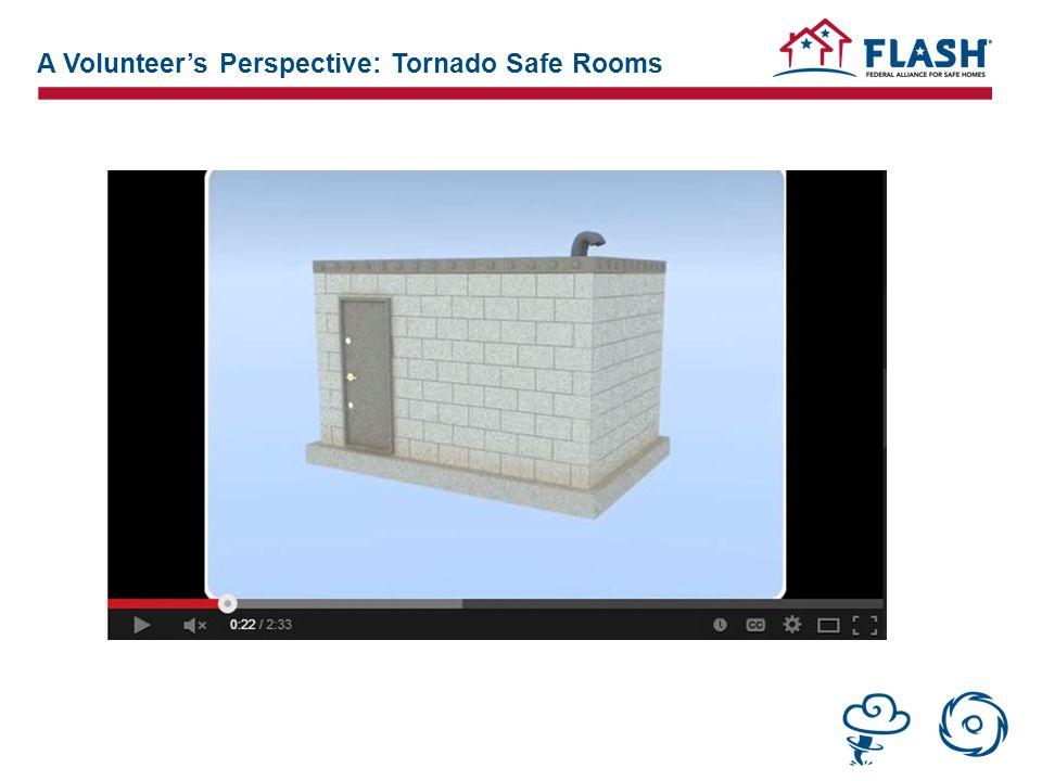 A Volunteer's Perspective: Tornado Safe Rooms