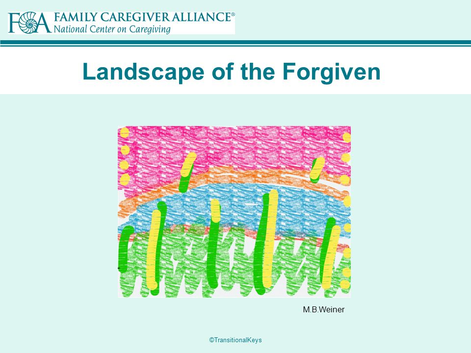 Landscape of the Forgiven M.B.Weiner