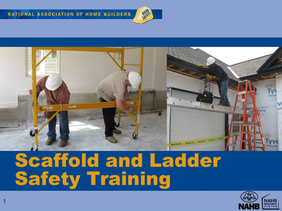 Scaffold and Ladder Safety Training 1