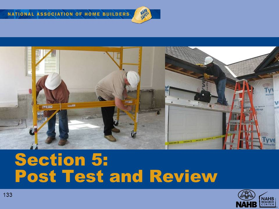 Section 5: Post Test and Review 133