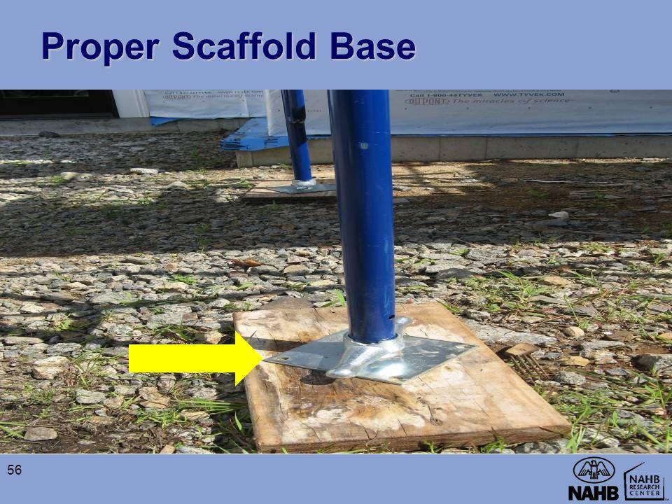 Proper Scaffold Base 56