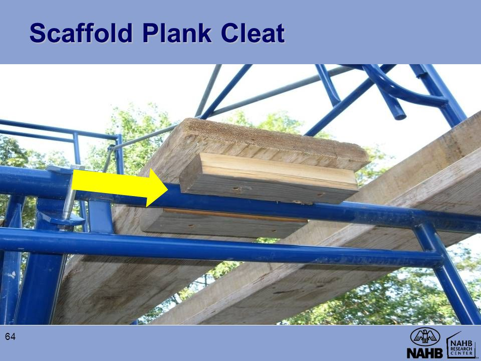 Scaffold Plank Cleat 64