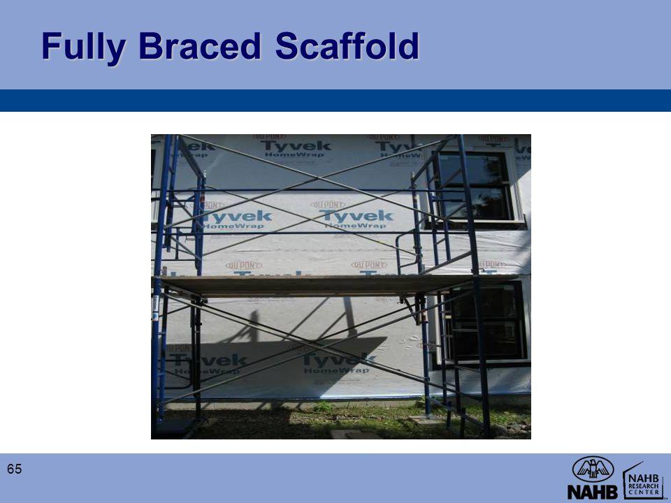 Fully Braced Scaffold 65