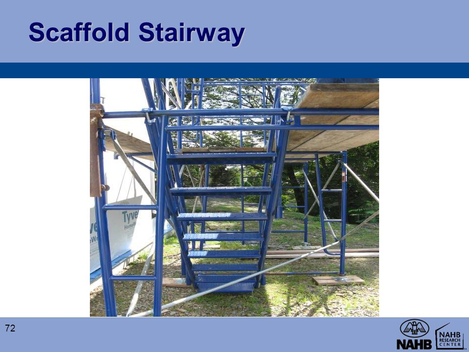 Scaffold Stairway 72