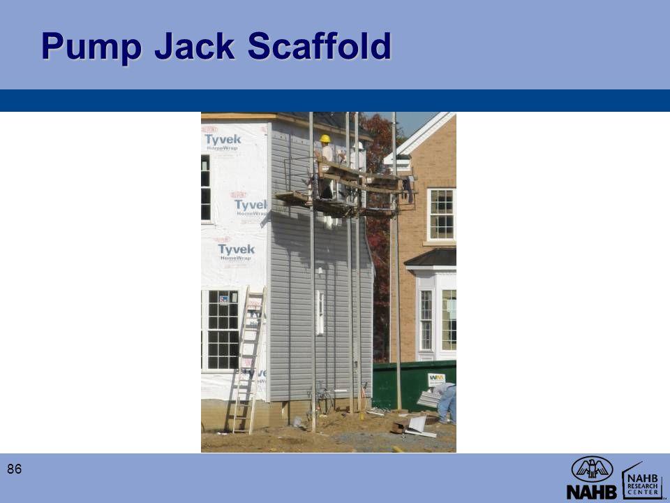 Pump Jack Scaffold 86