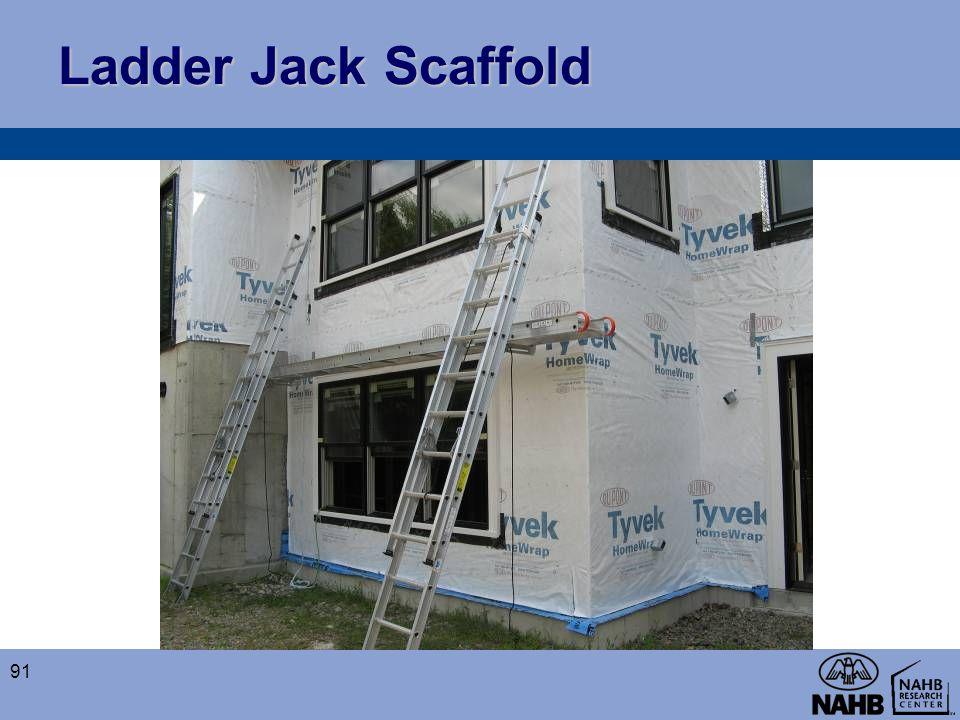 Ladder Jack Scaffold 91
