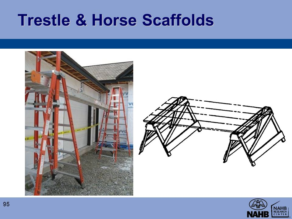 Trestle & Horse Scaffolds 95