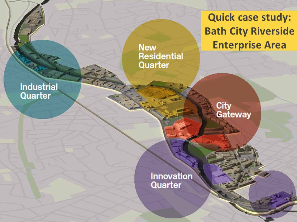 Quick case study: Bath City Riverside Enterprise Area