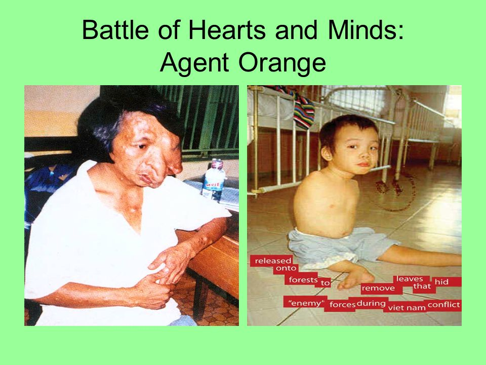 Battle of Hearts and Minds: Agent Orange